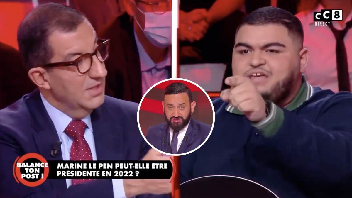 Balance ton post : Le ton monte d'un cran entre Jean Messiha et l'un des chroniqueurs du talk-show ! Cyril Hanouna obligé de s'interposer !