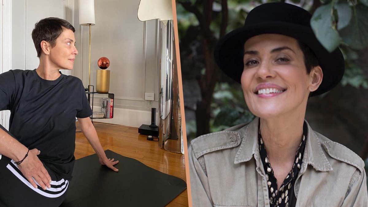 Cristina Cordula : ce détail inattendu de sa séance de yoga qui scandalise les internautes !