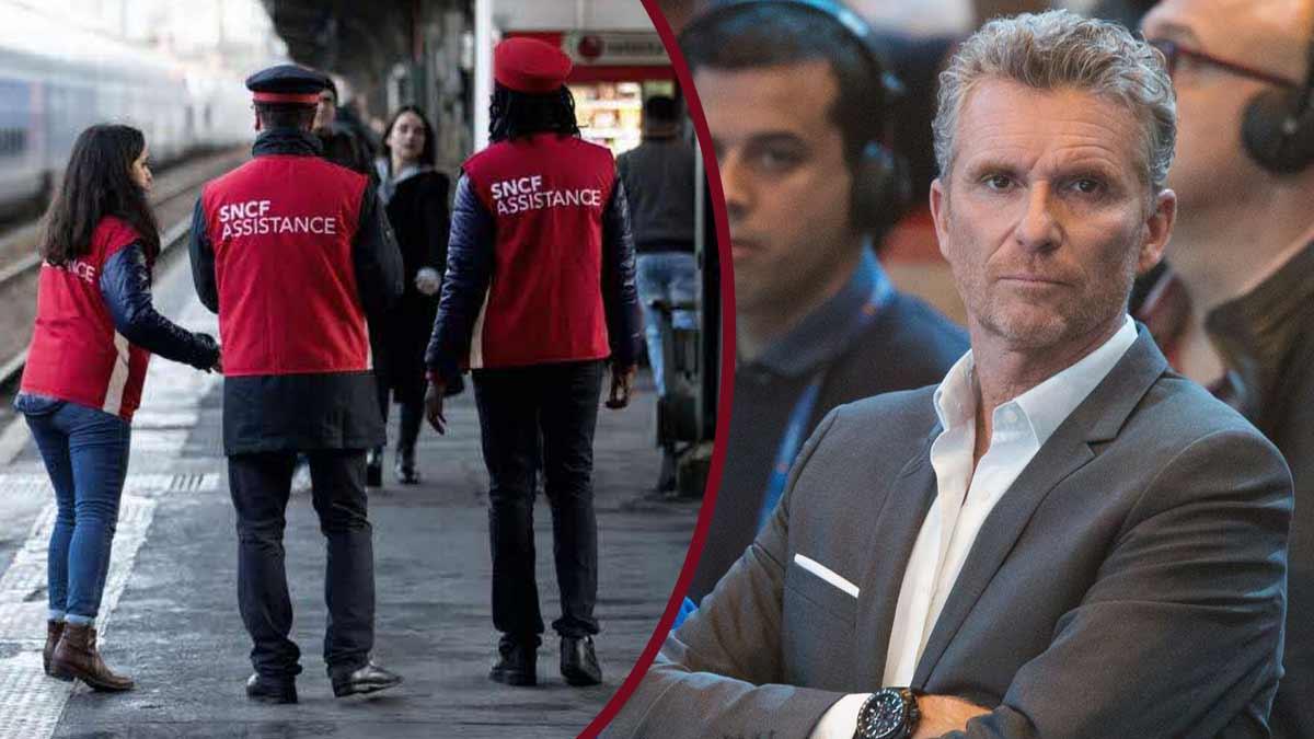 Excédé Denis Brogniart monte au créneau et s'en prend à la SNCF !