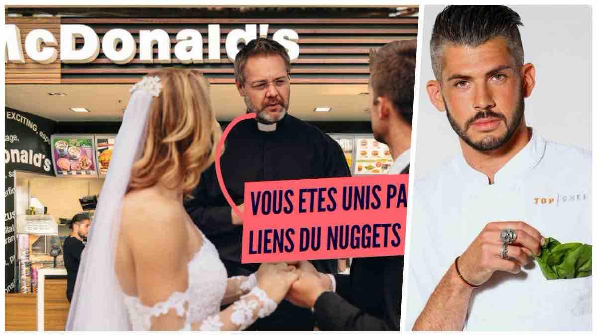 Top Chef : un ex-candidat de la célèbre émission culinaire fête son mariage dans un McDo !