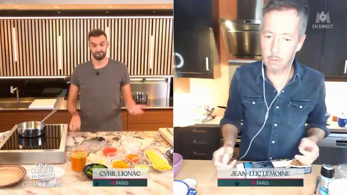Tous en cuisine : Gros clash entre Cyril Lignac et Jean-Luc Lemoine !