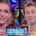 N'oubliez pas les paroles : Jérémy éliminer, Jennifer remporte la victoire haut la main !