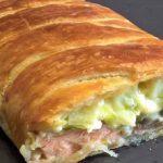 Cette recette inratable de feuilleté crousti-crémeux saumon/poireaux ( un vrai régal !)