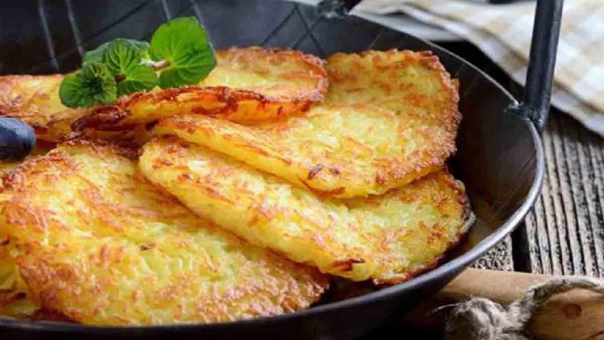Cette recette savoureuse et révolutionnaire de crêpes à base de pommes de terre !